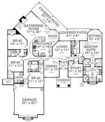 luxury ranch estate house plan lacrysta first floor plan