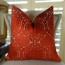 Orange Pillows For Sofa by Inspirations Decorative Sofa Pillows Red Throw Pillows Awesome
