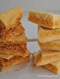 sponge toffee life is a party