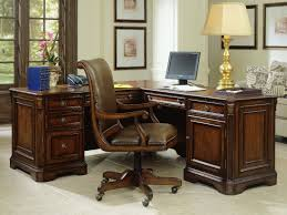 kidney shaped executive desk hooker furniture brookhaven distressed medium cherry 68 u0027 u0027l x 79 u0027 u0027w
