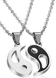 couples necklace buy 2 yin yang magic pendant couples necklace necklaces