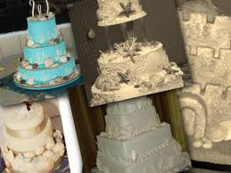 beach theme wedding cakes http www cake decorating corner com