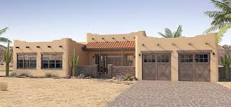 pueblo style house plans plan 6793mg adobe style house plan with icf walls architectural