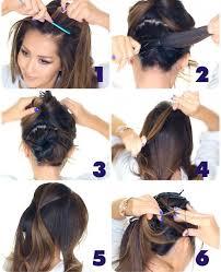 Hochsteckfrisurenen Lange Haare Zum Nachmachen by Lã Ssige Hochsteckfrisuren Zum Selbermachen Asktoronto Info