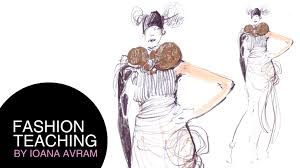 How To Draw Fashion Designs How To Draw Fashion Sketches Youtube
