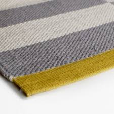 Yellow And Grey Runner Rug Rugs