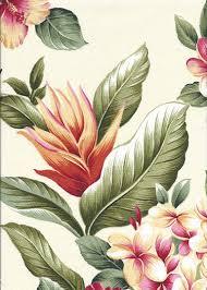 Tropical Upholstery Mohala Taupe Tropical Hawaiian Tropical Hawaiian Leafy Bird Of