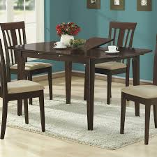 shop monarch specialties wood extending dining table at lowes com