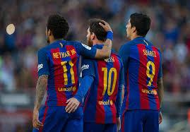 Laliga Table La Liga 2016 17 Barcelona 4 1 Villarreal Player Ratings
