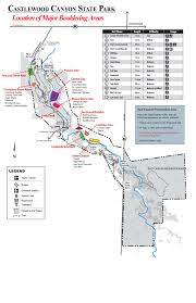 Colorado State Parks Map by Climbing Map The Unrelenting Lowdown