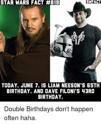 Star Wars Birthday Memes - 25 best memes about birthday and star wars birthday and star