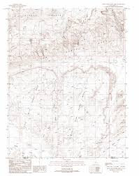 Mesa Arizona Map by Little Wild Horse Mesa Topographic Map Ut Usgs Topo Quad 38110e7