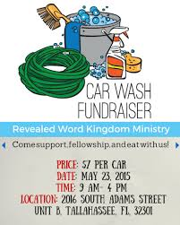 revealed word kingdom ministry car wash flyer adrian v floyd