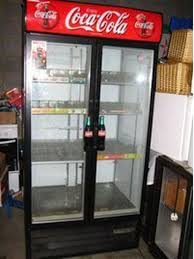 Glass Door Bar Fridge For Sale by Secondhand Catering Equipment Drinks Fridges