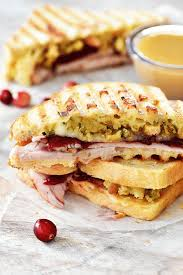 thanksgiving leftovers panini in the lofthouse