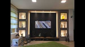 Beleuchtung Wohnzimmer Fernseher Tv Wand Selber Bauen Wohnzimmer Living Room Tv Wall Youtube