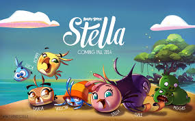 angry birds stella friends games animation