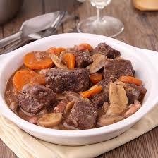 cuisiner le boeuf bourguignon recette boeuf bourguignon simple facile rapide