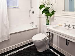 bathroom decoration black and white tile floor bathroom black