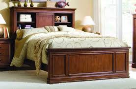 furniture home bedroom queen bookcase headboard storage bed and