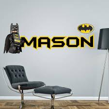 boy wall art batman blogstodiefor com lego batman personalised wall sticker children s boy s bedroom