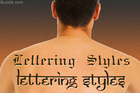know the tattoo lettering styles and designs for the perfect look