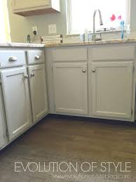 Kitchen Cabinet Makeover Ideas A Revere Pewter Kitchen Cabinet Makeover Evolution Of Style
