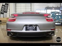 modified porsche 911 turbo 2017 porsche 911 turbo cabriolet gt silver w 4k miles