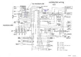 nissan n13 wiring diagram nissan wiring diagrams instruction