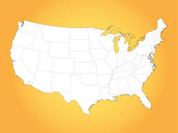 map vector free us map silhouette vector vector map of united states of