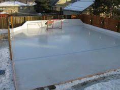 Backyard Hockey Rink by 7 Steps To A Backyard Ice Rink Backyard Ice Rink Backyard And