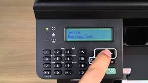 running a fax test from your printer u0027s control panel hp laserjet
