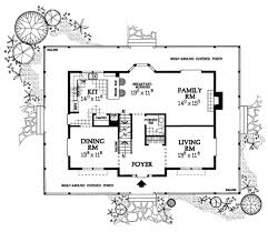 country style house plan 4 beds 2 5 baths 2420 sq ft plan 72