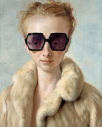 currin in fur currin and artist