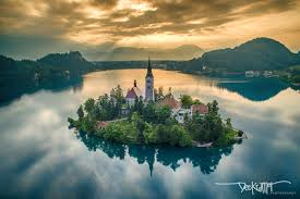 lake bled lake bled slovenia skypixel aerial photo