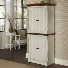 walnut wood honey windham door kitchen pantry storage cabinet
