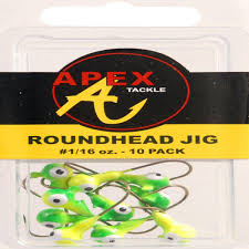 amazon com apex jig heads pack of 10 sports u0026 outdoors
