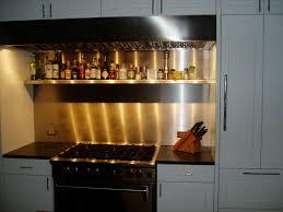 kitchen stainless steel backsplashes brooks custom kitchen