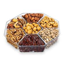 nuts gift basket mix roasted 7 nuts snack salt gift basket tray christmas family