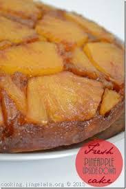 pineapple upside down cake featuring chef nick stellino