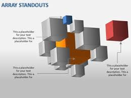 cube stacks a powerpoint template from presentermedia com