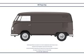 volkswagen bus art vw panel van 1 by ws clave on deviantart