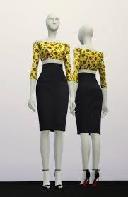 basic high waist h line pencil dress designer pattern at rusty