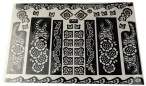 diy henna stencil tattoo sticker price review and buy in dubai