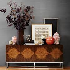 burl wood console table burled wood double console in brown