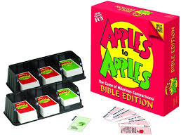 amazon com apples to apples bible edition toys u0026 games