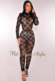 jumpsuit shorts lace boy lined jumpsuit