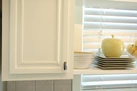 Cloud White Kitchen Cabinets by Kitchen Makeover Hardware Installation