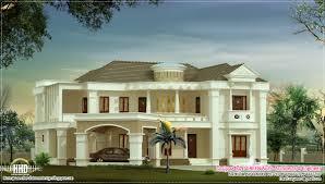 ranch style floor plans 3000 sq ft 3500 sq feet luxury villa kerala home design and floor plans