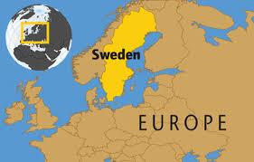 map of sweden sweden mind map